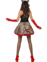 Adult Fever Party Glam Pussy Costume  - Side View - Thumbnail