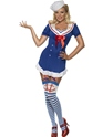 Adult Fever Pin Up Ahoy Sailor Costume Thumbnail