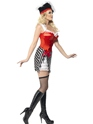 Adult Fever Pirate Costume  - Side View - Thumbnail