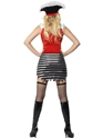 Adult Fever Pirate Costume  - Back View - Thumbnail