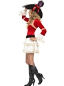 Adult Fever Plentiful Pirate Costume  - Side View - Thumbnail