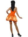 Adult Fever Pumpkin Costume  - Back View - Thumbnail