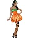 Adult Fever Pumpkin Costume Thumbnail