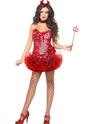 Adult Fever Red Devil Costume Thumbnail