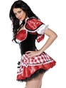Adult Fever Red Riding Costume  - Side View - Thumbnail