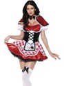 Adult Fever Red Riding Costume Thumbnail