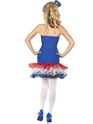 Adult Fever Rule Britannia Union Jack Costume  - Back View - Thumbnail