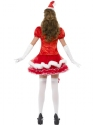Adult Fever Santa Costume  - Side View - Thumbnail