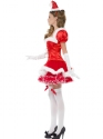 Adult Fever Santa Costume  - Back View - Thumbnail
