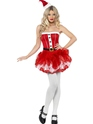 Adult Fever Santa TuTu Costume Thumbnail