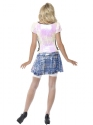 Adult Fever School Girl Bling Costume  - Side View - Thumbnail