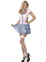 Adult Fever School Girl Bling Costume Thumbnail