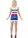 Adult Fever Sequin Sailor Costume  - Side View - Thumbnail
