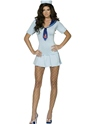 Adult Fever Shipmate Sweetie Sailor Costume  - Back View - Thumbnail