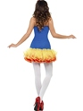 Adult Fever Sexy Snow Costume  - Side View - Thumbnail