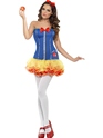 Adult Fever Sexy Snow Costume Thumbnail