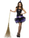 Adult Fever Tutu Witch Costume  - Additional Image