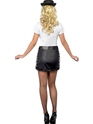 Adult Fever UK Policewoman Costume  - Side View - Thumbnail
