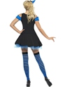 Adult Fever Wicked Witch Blue Costume  - Side View - Thumbnail