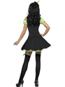 Adult Fever Wicked Witch Green Costume  - Back View - Thumbnail
