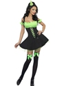 Adult Fever Wicked Witch Green Costume Thumbnail