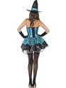 Adult Fever Witch Devine Costume  - Side View - Thumbnail