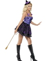 Adult Fever Witch Glimmer Costume  - Side View - Thumbnail
