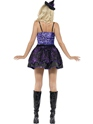 Adult Fever Witch Glimmer Costume  - Back View - Thumbnail