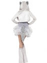 Adult Fever Wolf Costume  - Back View - Thumbnail