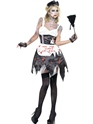 Adult Fever Zombie French Maid Costume Thumbnail