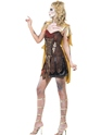 Adult Fever Zombie Gladiator Costume  - Back View - Thumbnail
