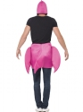 Adult Flamingo Costume  - Side View - Thumbnail