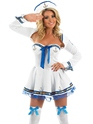 Adult Flirty Sailor Costume Thumbnail