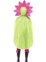 Flower Party Poncho Festival Costume  - Side View - Thumbnail
