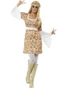 Adult Ladies Flower Power Costume Thumbnail