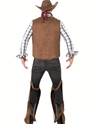 Adult Fringe Cowboy Costume  - Side View - Thumbnail