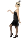 Adult Fringe Flapper Costume  - Back View - Thumbnail