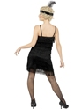 Adult Fringe Flapper Costume  - Side View - Thumbnail