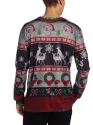 Adult Ugly Frisky Deer Christmas Jumper  - Side View - Thumbnail