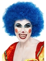 Crazy Clown Wig Blue Thumbnail
