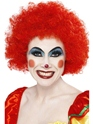 Crazy Clown Wig Red Thumbnail