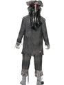 Adult Ghost Ship Ghoul Costume  - Side View - Thumbnail