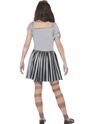 Child Ghost Ship Pirate Girl Costume  - Side View - Thumbnail