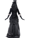 Adult Ghost Town Black Widow Costume  - Side View - Thumbnail