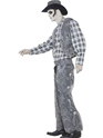 Adult Ghost Town Cowboy Costume  - Back View - Thumbnail