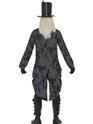 Adult Ghost Town Undertaker Costume  - Side View - Thumbnail