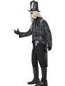 Adult Ghost Town Undertaker Costume  - Back View - Thumbnail