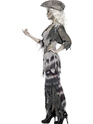 Adult Ghost Ship Ghoulina Costume  - Back View - Thumbnail