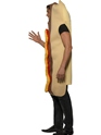 Adult Giant Hot Dog Costume  - Back View - Thumbnail