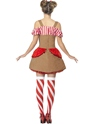Gingerbread Woman Costume  - Side View - Thumbnail